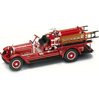 Yat-ming 1:43 Scale Diecast Fire Engine - Red 1924 Stutz Model C on sale