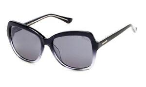 be00c6287a NWT Guess Sunglasses GU 7428 05C Black Clear / Gradient Gray 57 mm ...