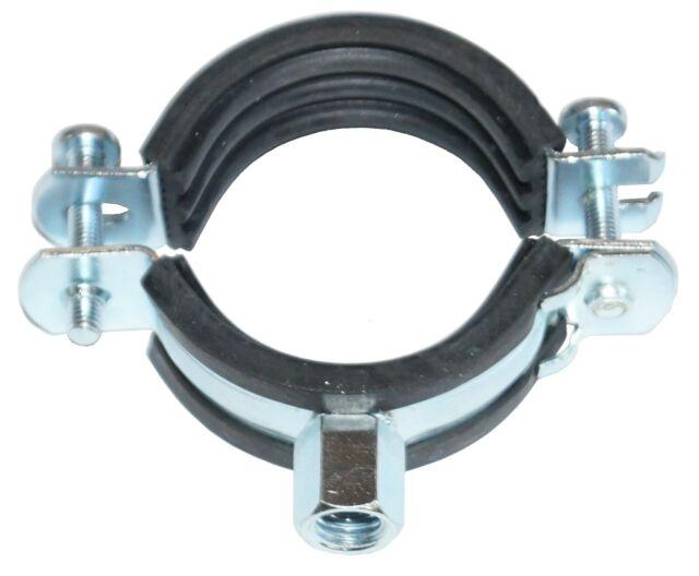 Collari doppi in nylon x tubo con vite 110685