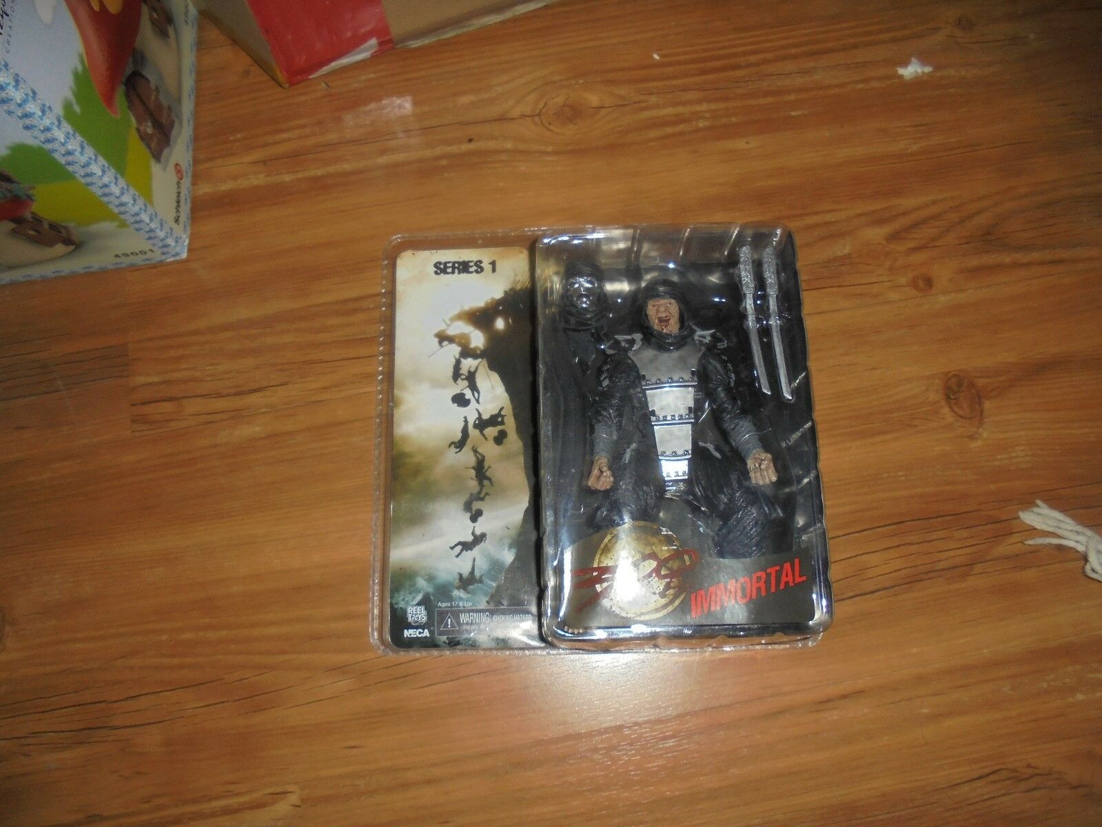 The movie 300  IMMORTAL  Series 1 Action Figure NECA 2007