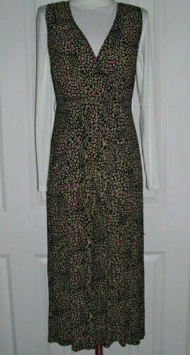 KAREN MILLEN WOMEN'S SLEEVELESS CULOTTE DRESS ABST