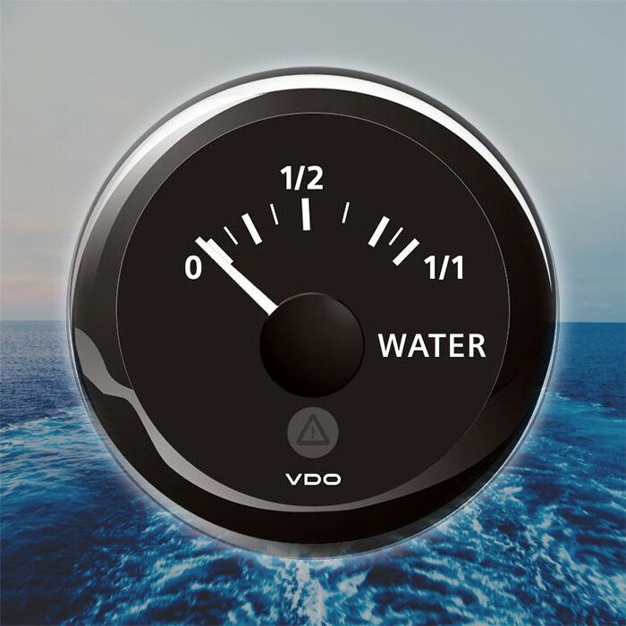 VDO Viewline Frischwasserstand Anzeige 52mm Stiefel 52mm Anzeige 2