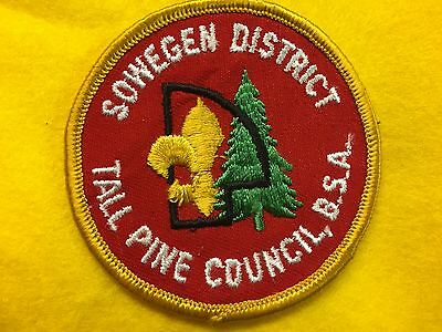 Tall Pine Council Sowegen District Loyal Boy Scouts Bsa Patch Comfortable Feel