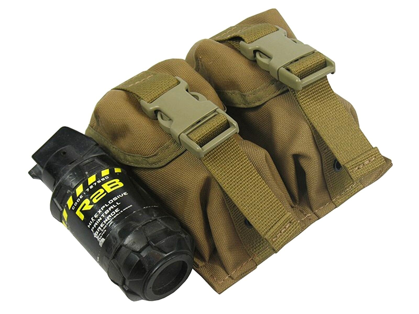 Pouch Case molle pals olive magazine grenade airsoft bag coyote brown Waterproof