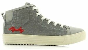 Details about Replay Girls Juniors Berks Silver Boots Sneakers show original title