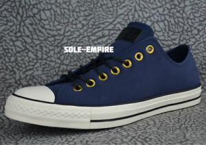 Details about Converse CTAS OX 153812C Chuck Taylor All Star Obsidian Blue White Black SALE