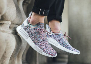 f984d8fd1f5d9 Adidas NMD R1 PK Color Static Multi color Size 9.5. BW1126. ultra ...