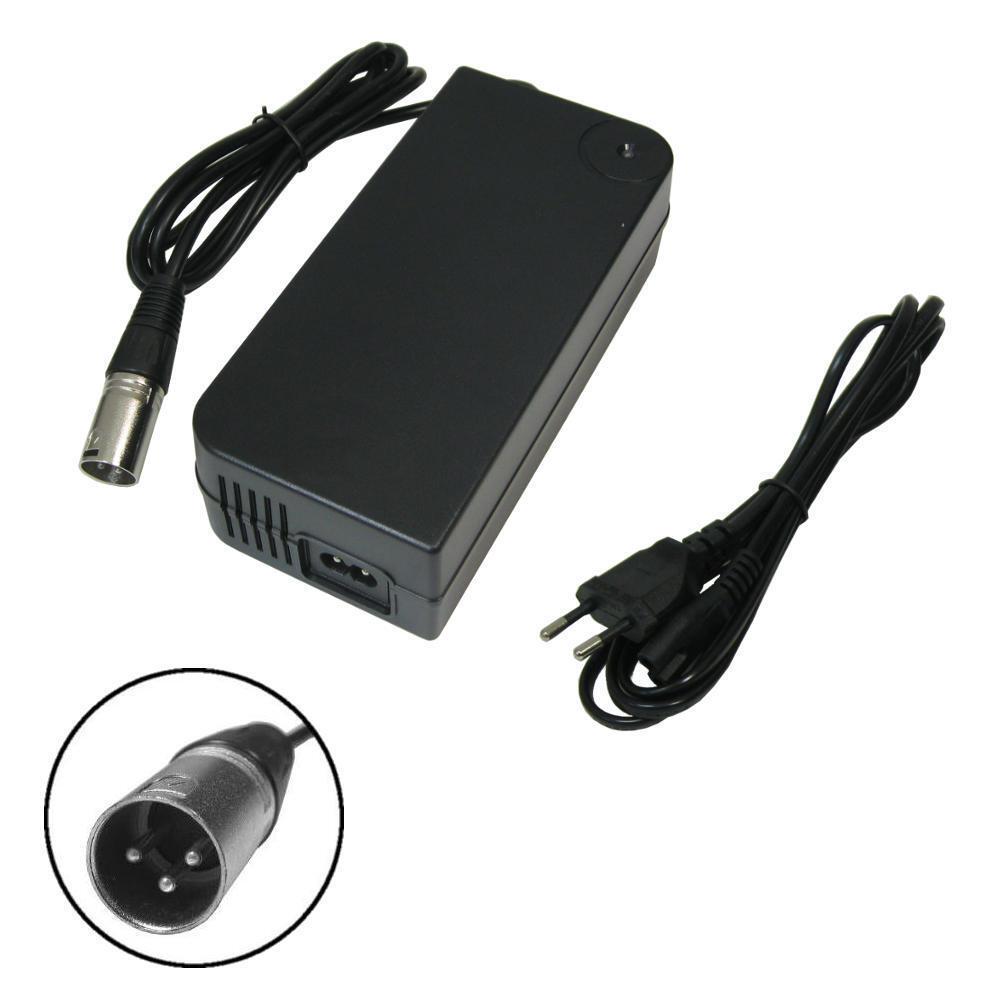42V 4A Netzteil Ladegerät Adapter für 36V Akkus mit Lüftung ersetzt HP1202L3