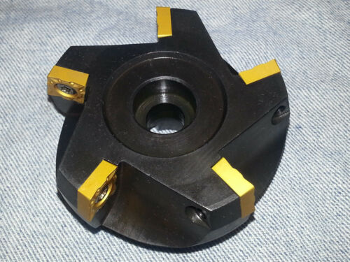 "3/"" Indexable Carbide Face Mill for CCMT 431 432 433 Inserts"
