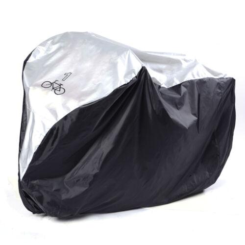 Motorcycle Bicycle Bike Waterproof Dust Rain Snow Outdoor Storage Bag Nylon UK