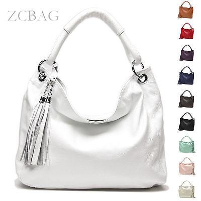 Neu Handtasche Leder Umhängetasche Tasche Neu Quasten Damentaschen Women Handbag