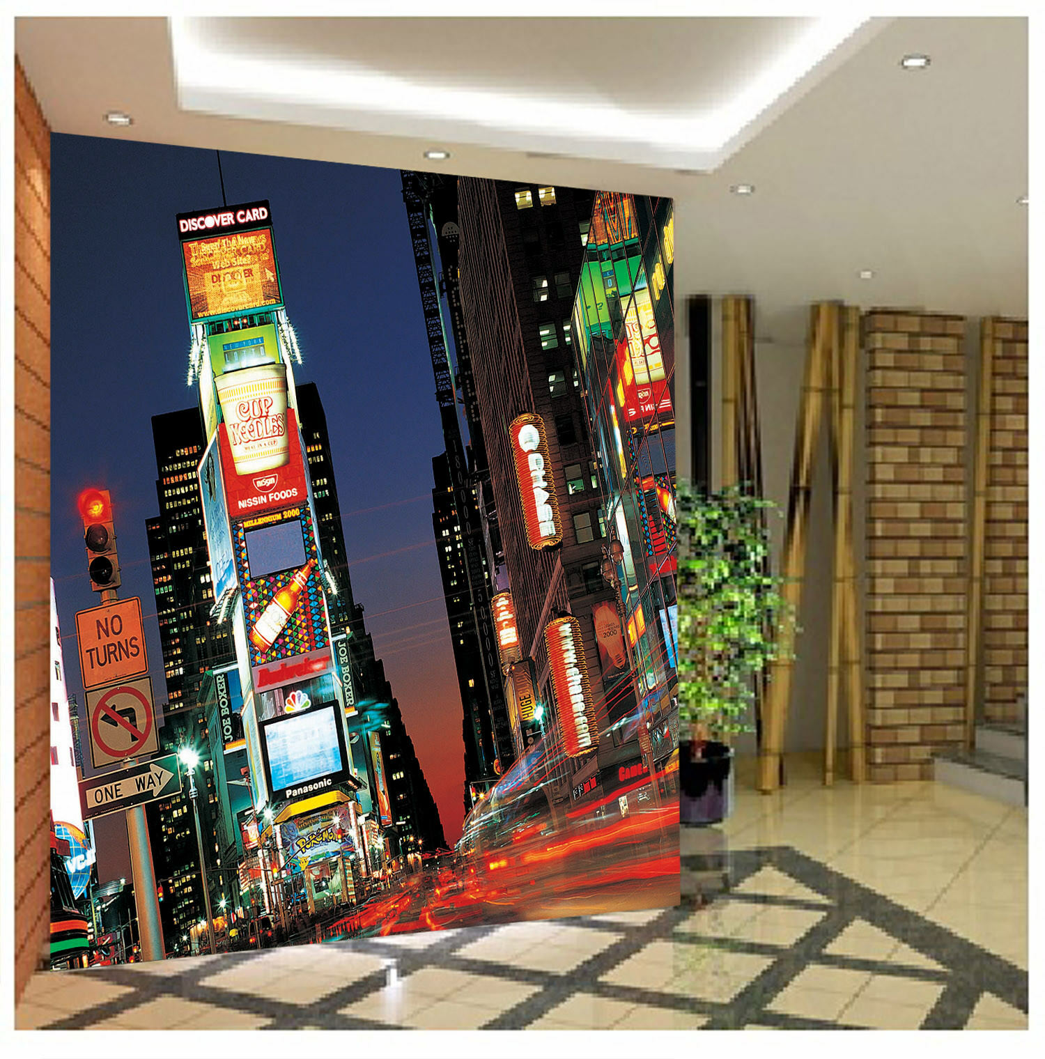3D City Night Street 44 Wall Paper Wall Print Decal Wall Deco Indoor Mural Carly