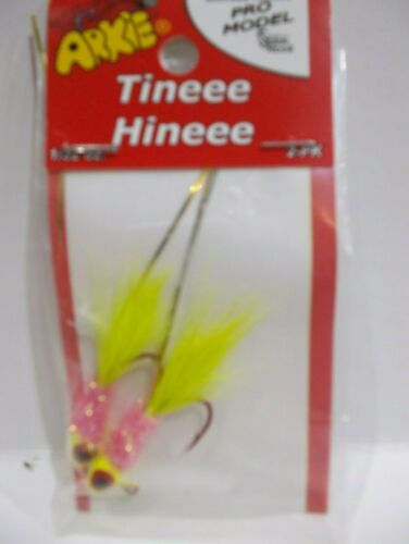 NIP Details about  /Arkie Tiny Hiny Tineee Hineee panfish jigs 1//32 oz choose your colors