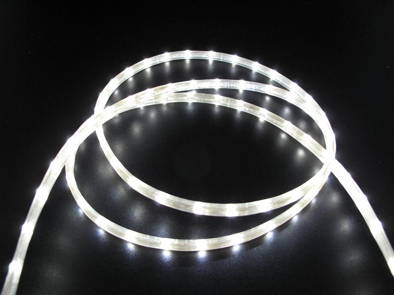 5 Meter LED SMD Lichtschlauch 12 Volt 5x8 mm  kaltweisse LED SMD  |