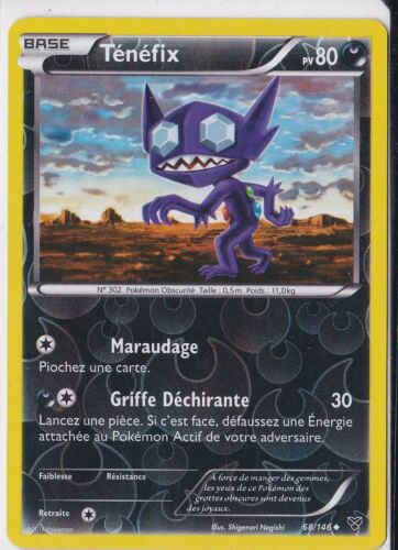 Ténéfix Reverse XY Carte Pokemon Neuve 68//146 Française