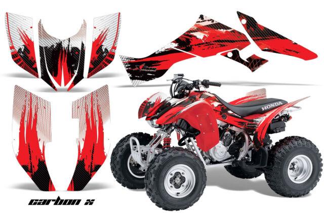 Honda Trx300ex Atv Graphic Kit Decal Sticker 300ex Quad Parts 07 12 Reaper White For Sale Online Ebay