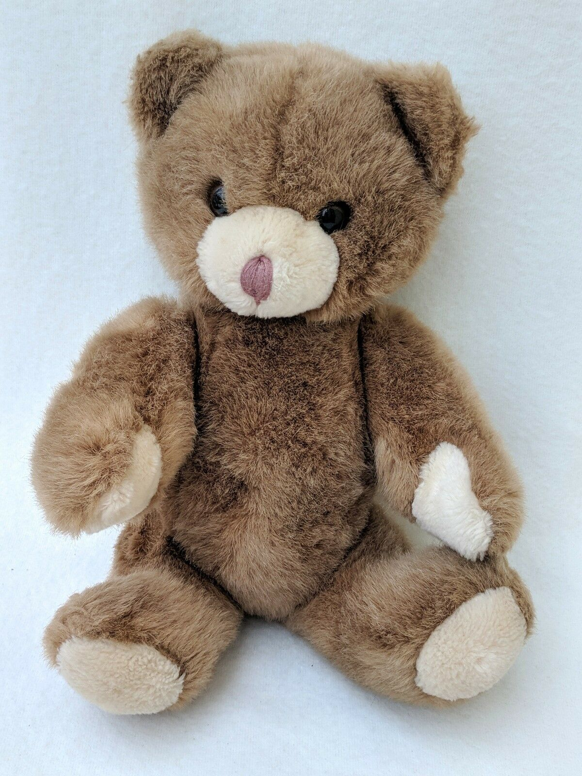 Vintage Mothercare Jointed braun Teddy Bear Soft Toy Cuddly 0230