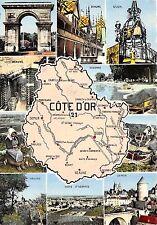 BR4479 Cote D Or map cartes geeographiques   france