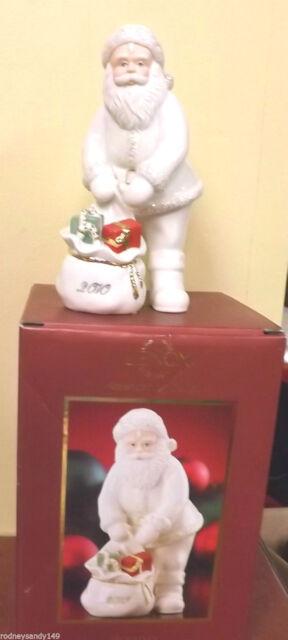 "Cute Retired LENOX Santa  2010  American by Design  Figurine 6 3/4"" High  IOB"