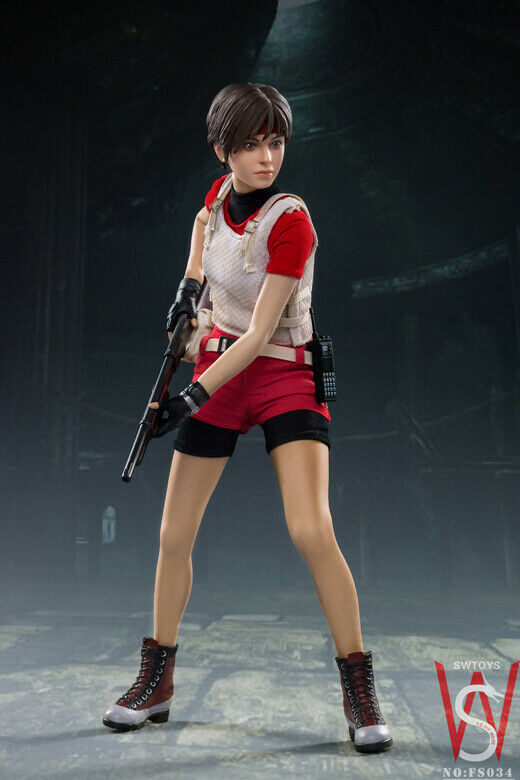SWTOYS 1//6th FS034 S.T.A.R.S Rebecca Chambers 2.0 Female Action Figure  Model