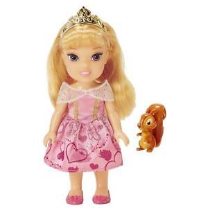 PICCOLA AURORA CON SQUIRREL Bambola 15 cm Principesse Disney