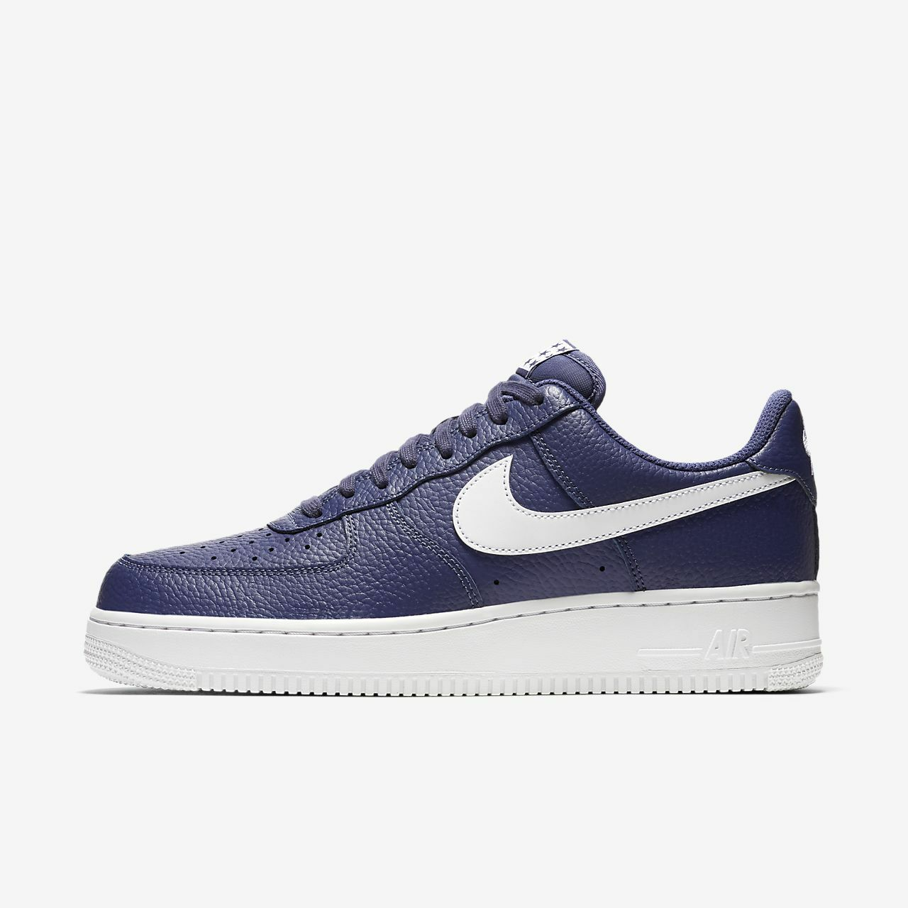 Nike Air Force 1 One '07 Low Top bluee Recall and White AA4083 401 AF1 Uptown