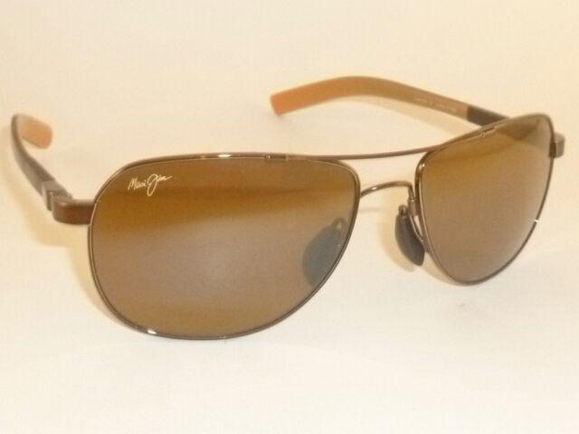 sold worldwide shop best sellers best sneakers Authentic Polarized Maui Jim Guardrails Sunglasses H327-23 Bronze Lenses