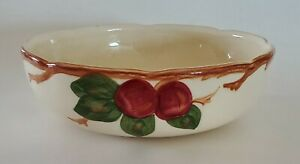 Franciscan Apple Round Vegetable Serving Bowl Made in California 8""