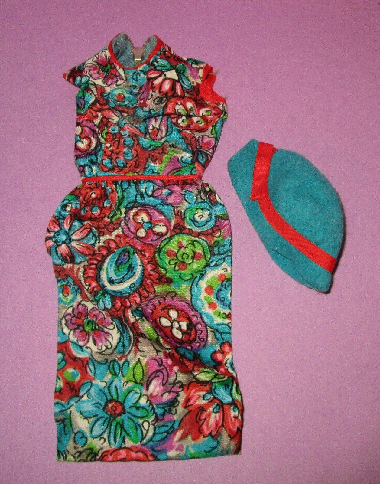Barbie Vintage 1960s Original Fashion Outdoor Art Show Outfit Hat 1650 TLC