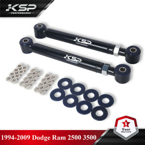 """Adjustable Front Upper Control Arms 1-6"""" Lift For 1994-2009 Dodge Ram 2500 3500"""
