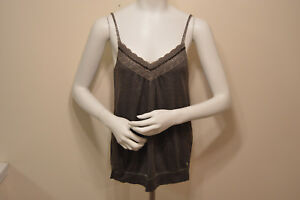 ABERCROMBIE-AND-FITCH-KIDS-GIRLS-ADJUSTABLE-STRAP-CAMI-TANK-TOP-SIZE-LARGE