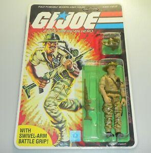 *RECARDED* 1983 GI Joe Recondo v1 Figure Complete Sealed *CUSTOM File Card Back*