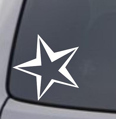 STAR Vinyl Decal Sticker Window Wall Car Bumper Tumbler Symbol Cute Astrology