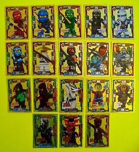 Auswahl-Lego-Ninjago-Serie-2-Karten-LE-Trading-Card-Game-Ninja-Karten-Goldkarten