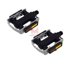 """Trekking Bicycle Bike Pedals silver-black 9//16/"""" Accent BASIC Universal MTB"""