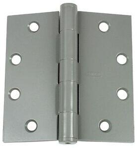 """Prime Coated 05-0055 Lot of 4 Stanley 4-1//2/"""" Commercial Heavy Duty Door Hinge"""