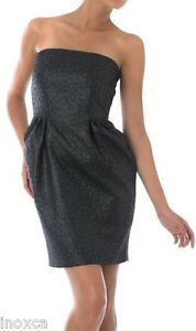 PIED-A-TERRE-ANIMAL-JACQUARD-DESIGNER-PARTY-DRESS-PETROL-BLUE-BNWT-RRP-140-00