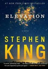Elevation by Stephen King (2019, Trade Paperback)