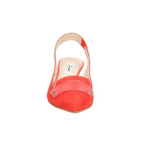 New Aquifer Sorbet Size Suede Slingback Shoe Clarks 3d Uk 66raqxP