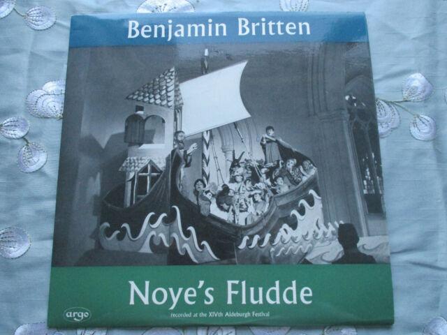 BENJAMIN BRITTEN NOYE'S FLUDDE RECORDED AT ALDEBURGH FESTIVAL 1961 STEREO LP