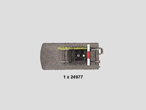 **Märklin 24977 H0 C-Gleis Gleisende mit Prellbock 77,5 mm /& 5 mm Neu**