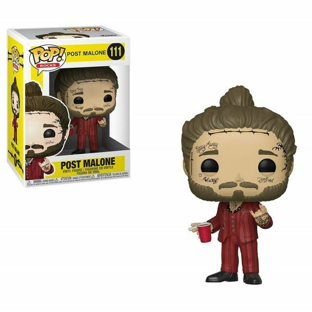 POST MALONE Funko pop rocks POST MALONE FUNKO POP PRE-ORDER may 19 rap music