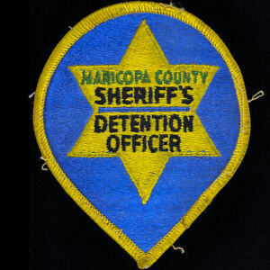 Maricopa-County-Arizona-DO-Detention-Officer-Sheriffs-Office-MCSO-Patch