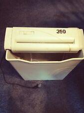Lk Vintage Fellowes Shred350 Paper Shredder Portable With Bin Tested Works