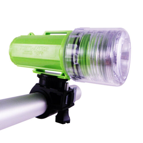 Camping Lanterns Dive LED Bike Head Light Bicycles Flashlight Waterproof Green