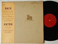 Sviatoslav Richter / Vedernikov BACH Concerto for Two Pianos Melodiya MK 1569 LP