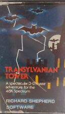Transylvanian Tower Spectrum 48k (TAPE) (Game, imballaggio, Manual)