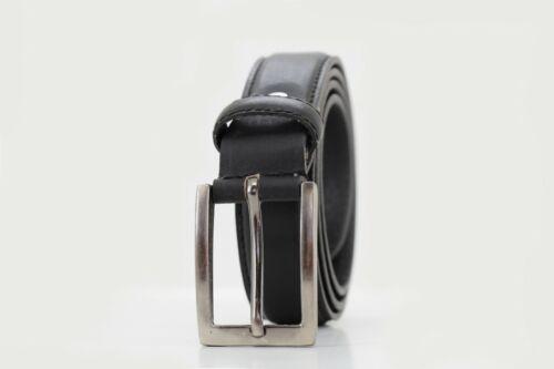 Homme Cuir Véritable Haute Qualité Élégant 35 mm Ceinture formelle BLACK BROWN /& BEIGE