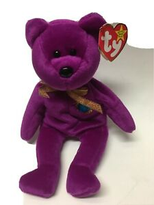 Millenium Beanie Baby With Tags Ty Kids Toy Collectables