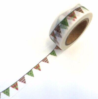 No Peeking Washi Tape Papercraft Holiday X-Mas Cards Planner Supply DIY Crafts
